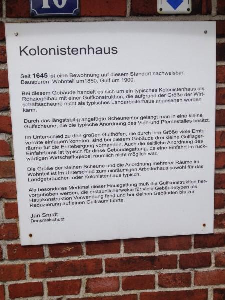 Dat Fehnhuuske Kolonistenhaus